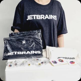 JetBrains 굿즈 경품